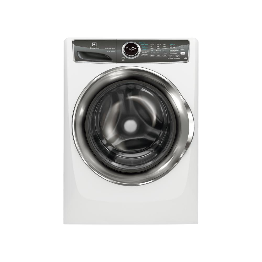 Electrolux 4 4 cu  ft  Front Load Washer with SmartBoost Technology Steam  in White, ENERGY STAR