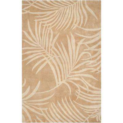 Total Performance Beige 6 ft. x 9 ft. Area Rug