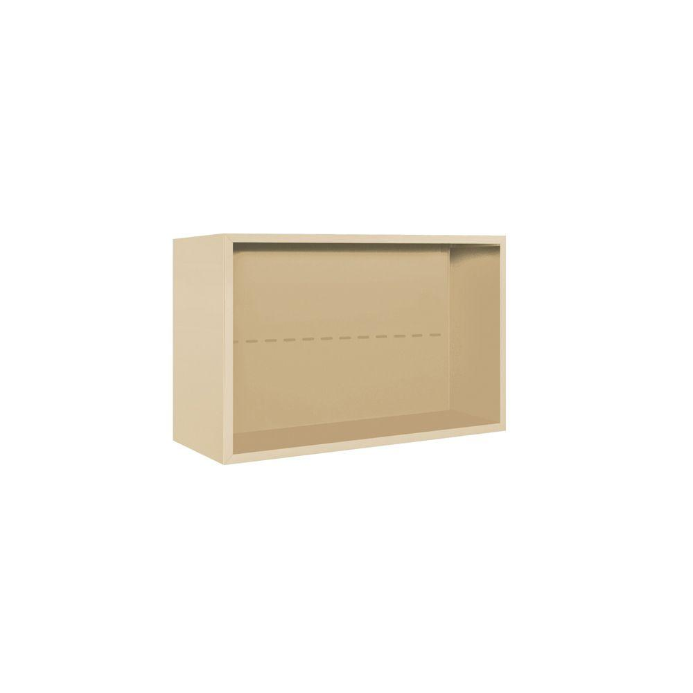 3800 Series Surface Mounted Enclosure for Salsbury 3705 Double Column Unit