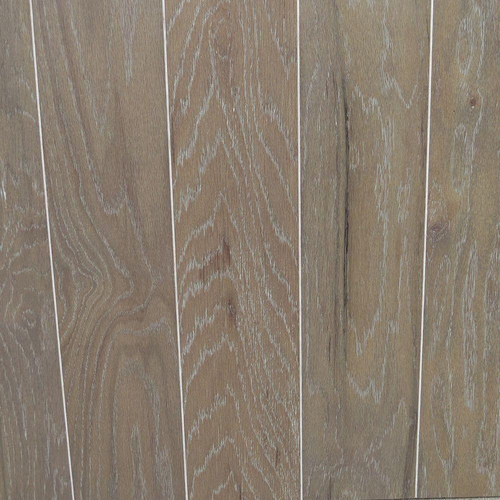 Oak Driftwood Wire Brushed Engineered