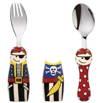 Duo Pirate/Mermaid 6-Piece Flatware Set