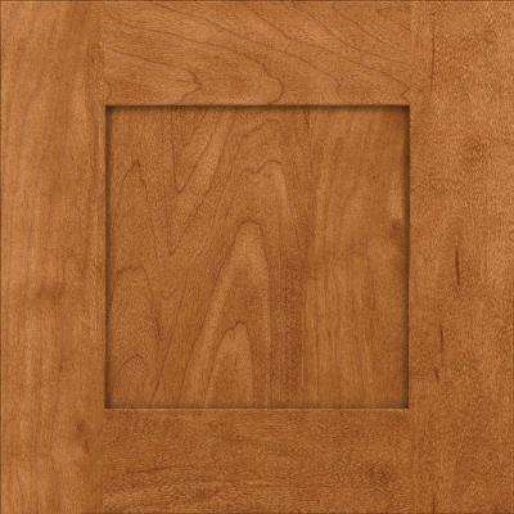 15x15 in. Cabinet Door Sample in Hayward Maple with Praline
