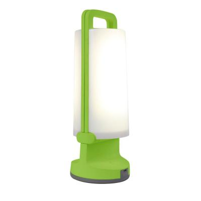 11 in. Green and White Folding Outdoor Solar Light