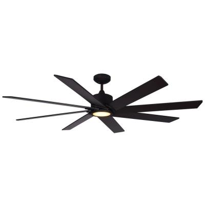 Northstar 60 in. Oil Rubbed Bronze Ceiling Fan with LED Light