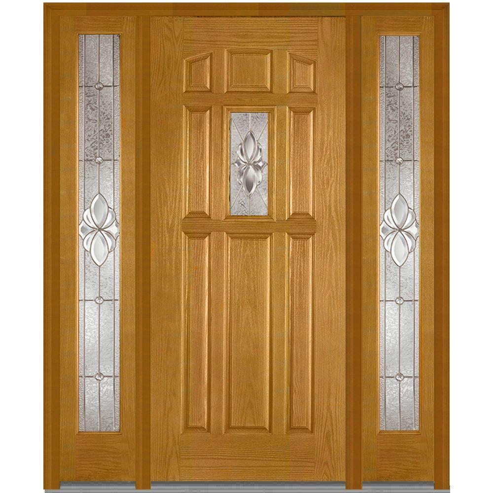 8 Panel Doors With Glass Fiberglass Doors The Home Depot