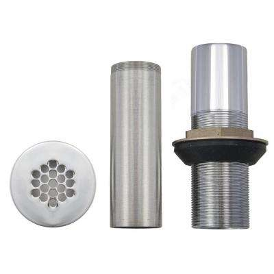Vessel Drain Assembly Kit in Brushed Nickel