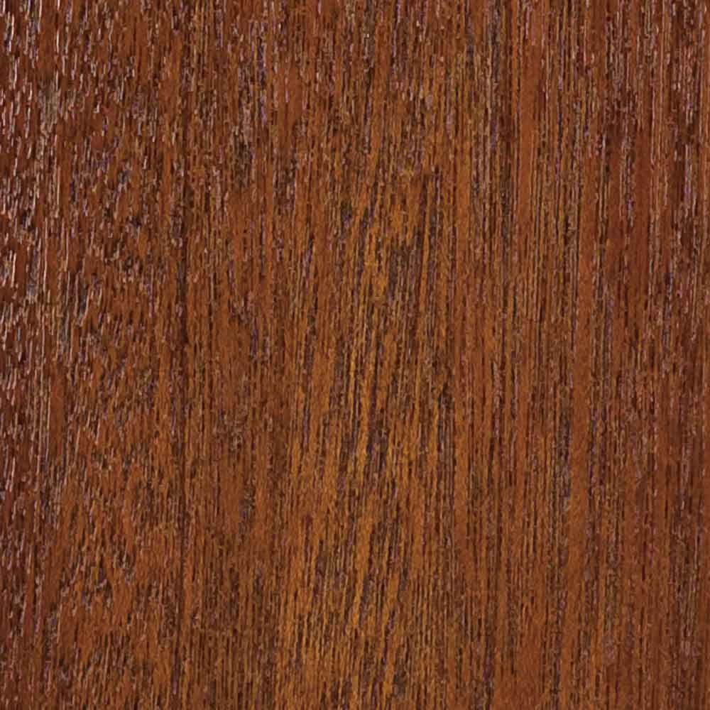 Clopay 4 in. x 3 in. Wood Garage Door Sample in Meranti with Butternut 072 Stain