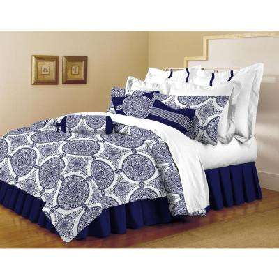 Classic Trends Indigo 5-Piece Full/Queen Comforter Set