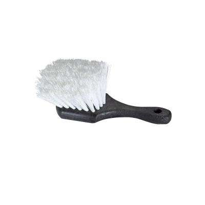 8 in. Short Handle Stiff Bristle Scrub Brush