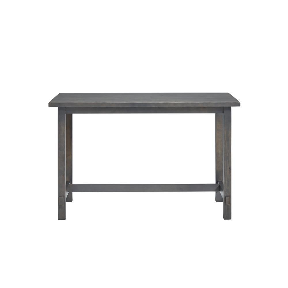 Mesa Distressed Gray Writing Desk
