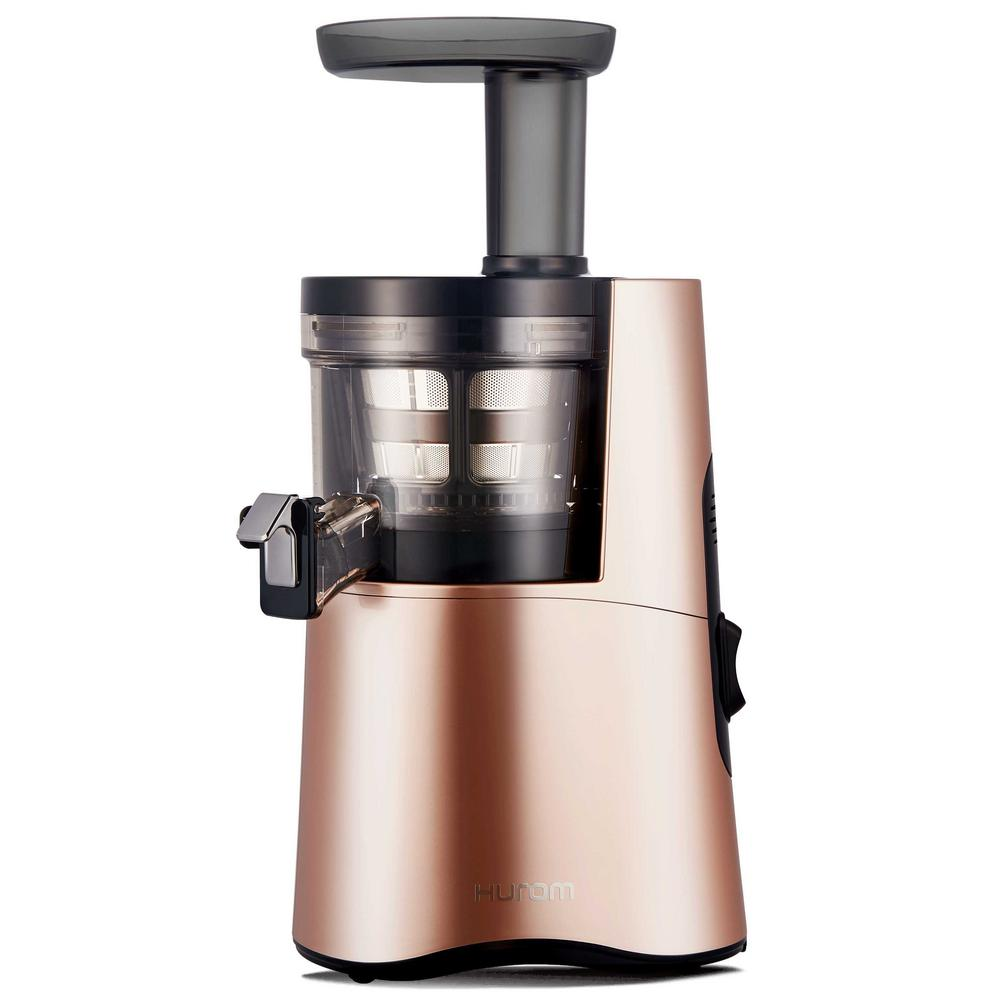 Hurom H Aa Slow Juicer Rose Gold : Hurom Slow Juicer in Rose Gold-H-AA-LBB17 - The Home Depot