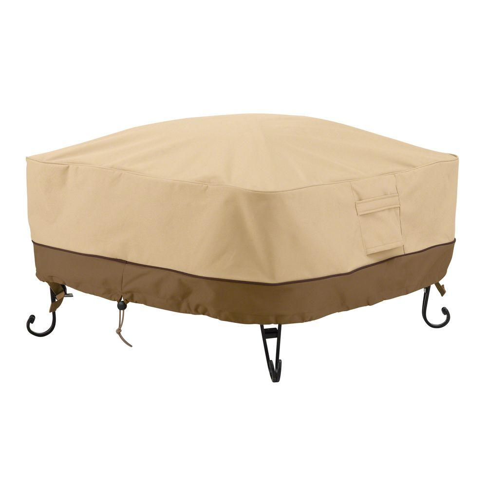 Classic Accessories Veranda 30 In Square Full Coverage Fire Pit