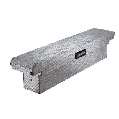 71.36 Diamond Plate Aluminum Full Size Crossbed Truck Tool Box