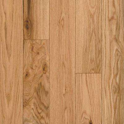 American Vintage Natural Red Oak 3/8 in. T x 5 in. W x Random L Engineered Scraped Hardwood Flooring (25 sq. ft. / case)