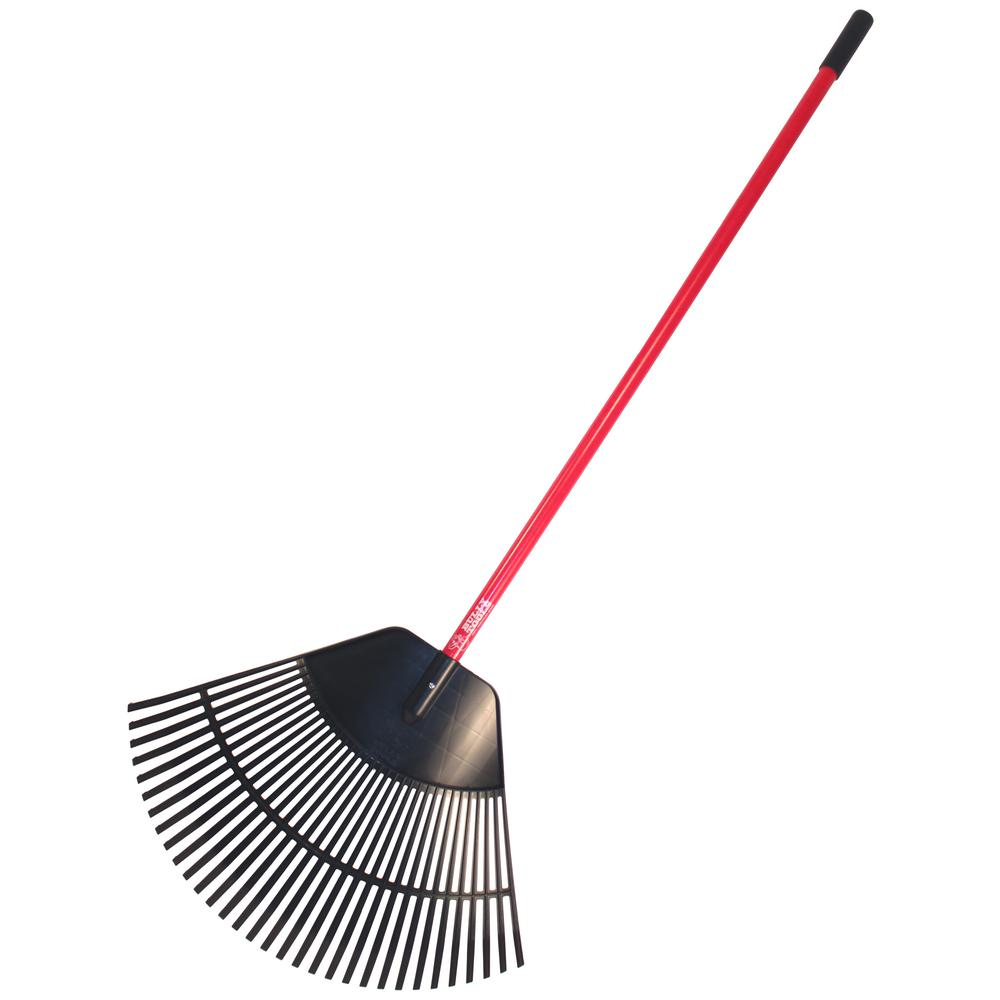 Bully Tools 30 in. Poly Lawn and Leaf Rake