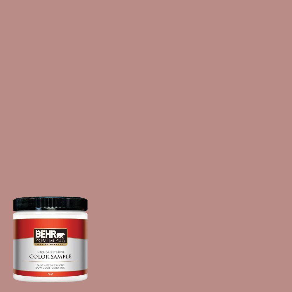 BEHR Premium Plus 8 oz. #170F-5 Brick Dust Interior/Exterior Paint Sample