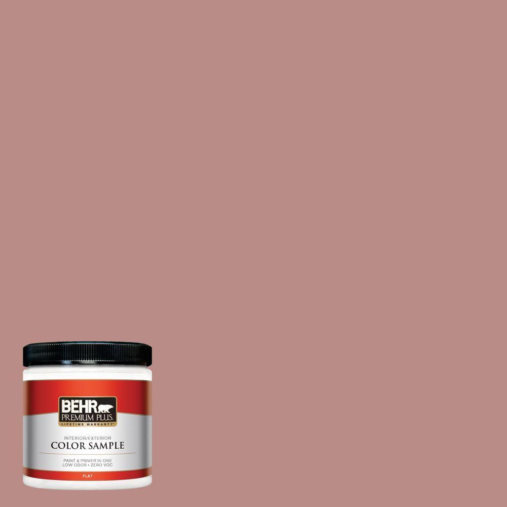 BEHR Premium Plus 8 oz. #170F-5 Brick Dust Interior/Exterior Paint Sample