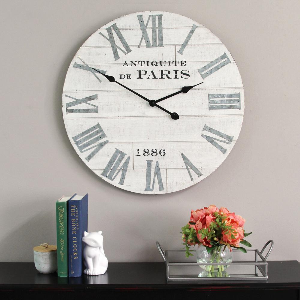 Adrianna Wood Clock