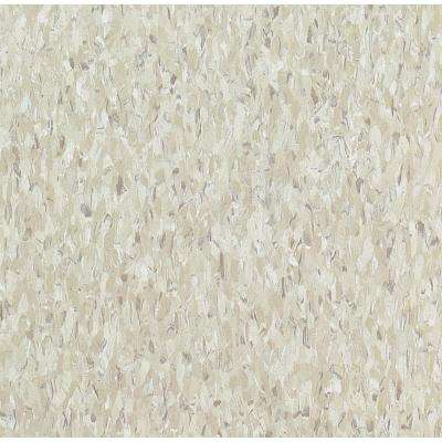 Imperial Texture VCT 12 in. x 12 in. Shelter White Standard Excelon Commercial Vinyl Tile (45 sq. ft. / case)