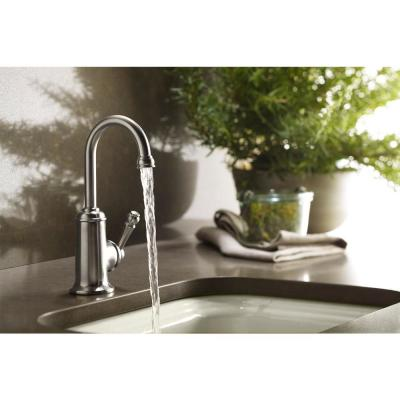 Wellspring Single-Handle Bar Faucet Traditional Design in Polished Chrome