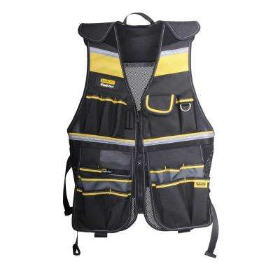 FATMAX Multi Pocket Tool Vest in Black and Yellow