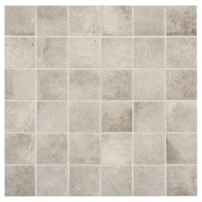 Eclectic Vintage Exposed Concrete 12 in. x 12 in. x 6.35 mm Ceramic Mosaic Floor and Wall Tile