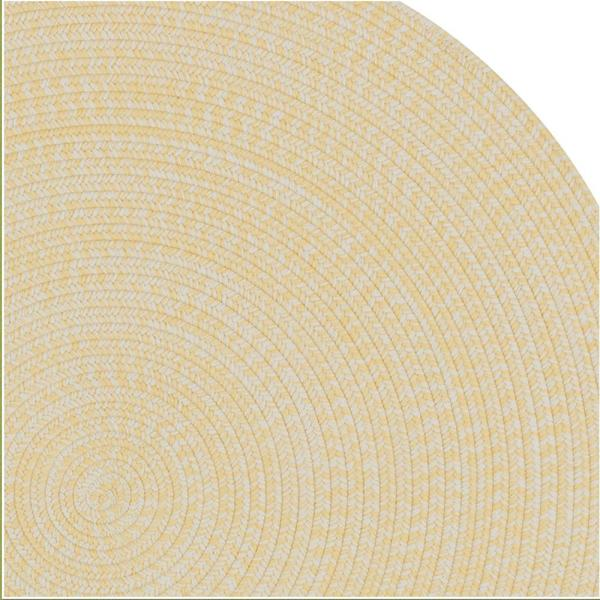 Colonial Mills Kaari Tweed Sunflower 5 Ft X 5 Ft Indoor Outdoor Round Area Rug Ka98r060x060 The Home Depot