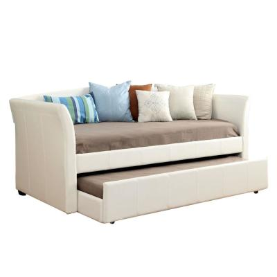 Delmar Daybed with Trundle in White