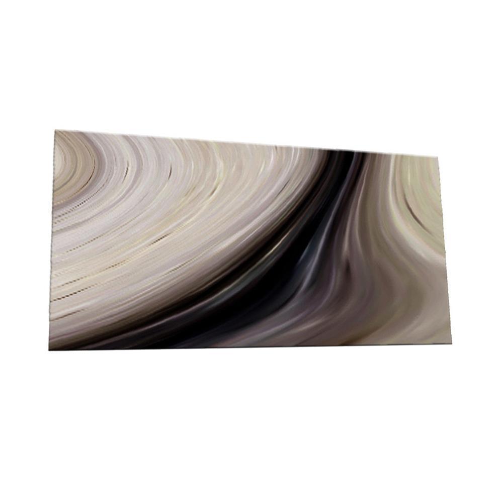 SkinnyTile Peel and Stick Earth Tone Watercolors Glass Wall Tile - 6 ...