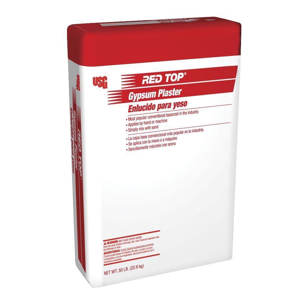 Red Top Brand 50 lb  Gypsum Plaster