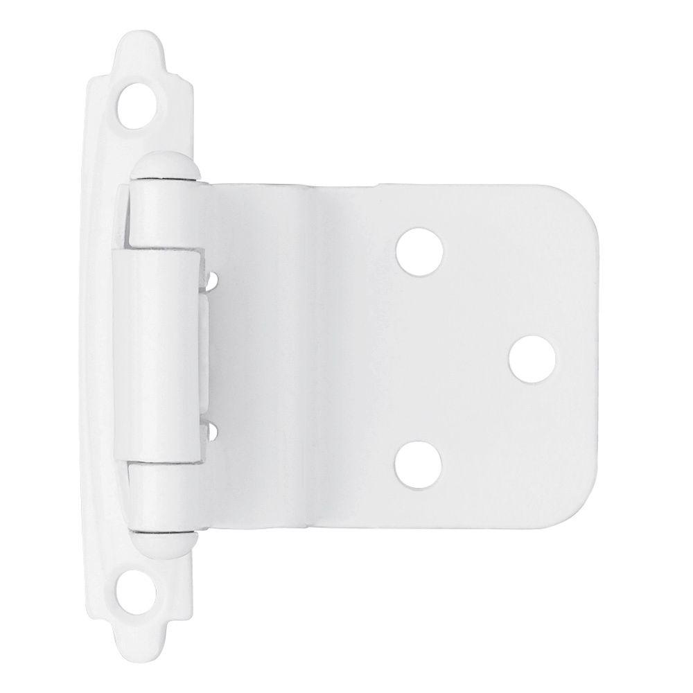White - Cabinet Hinges - Cabinet Hardware - The Home Depot
