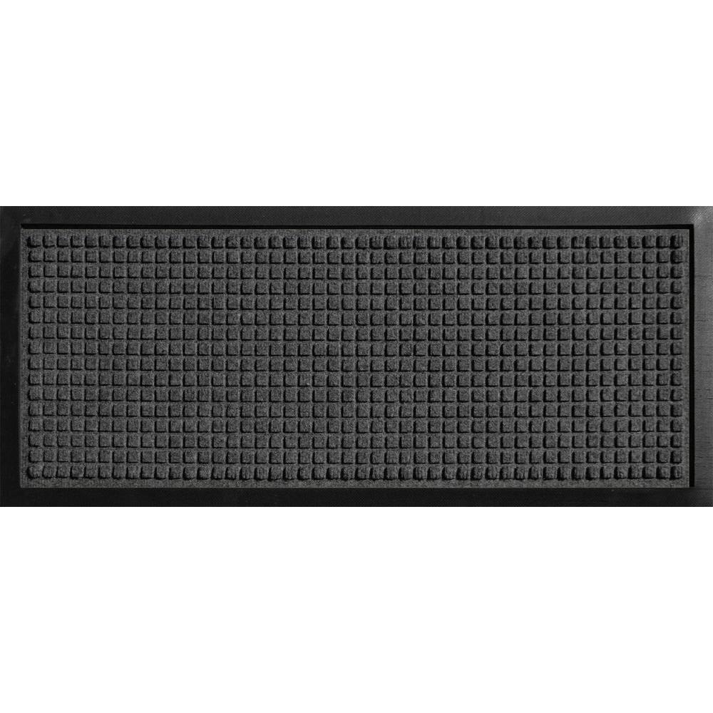 Bungalow Flooring Aqua Shield Boot Tray Squares Charcoal