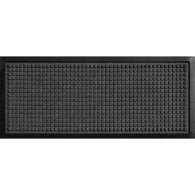 Aqua Shield Boot Tray Squares Charcoal 15 in. x 36 in. Door Mat