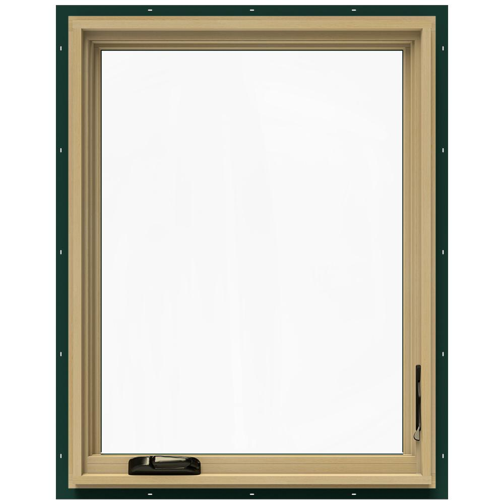 28.75 in. x 36.75 in. W-2500 Right-Hand Casement Wood Window