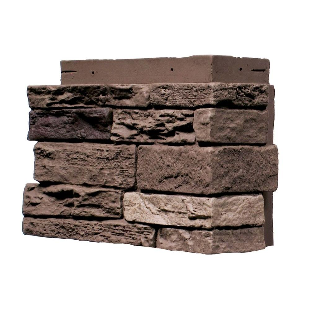 Genstone Stacked Stone Kenai 12 In X 12 In Faux Stone