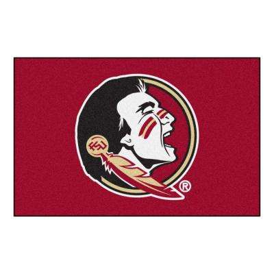 NCAA Florida State University Red 2 ft. x 3 ft. Area Rug