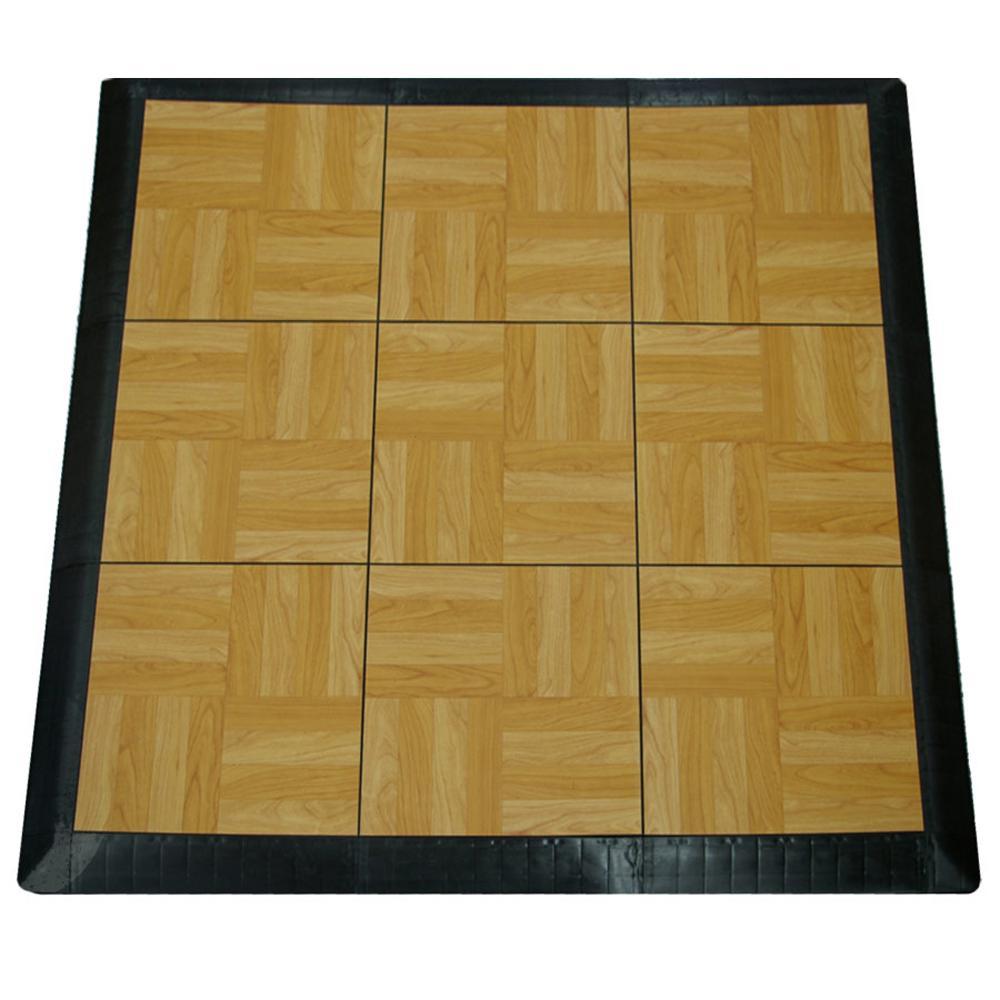 Snap together tile flooring home depot