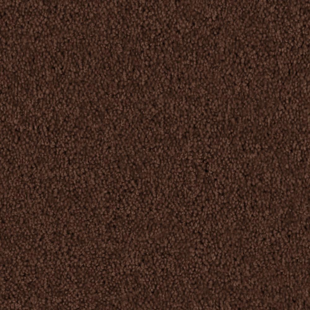 Carpet Sample - Team Builder - In Color Rustic Brown 8 in. x 8 in.