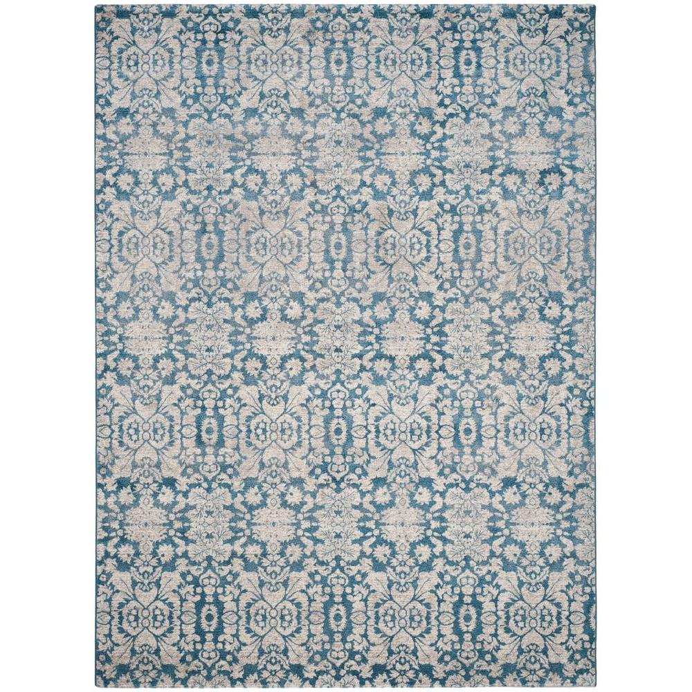 Safavieh Sofia Blue Beige 5 Ft X 8 Area Rug