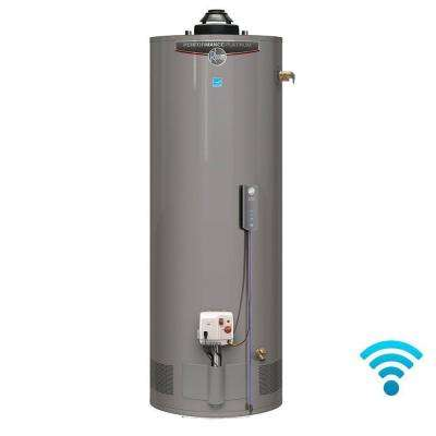 Performance Platinum 38 Gal. Tall 12 Year 40,000 BTU Natural Gas ENERGY STAR Tank Water Heater with WiFi Module Included