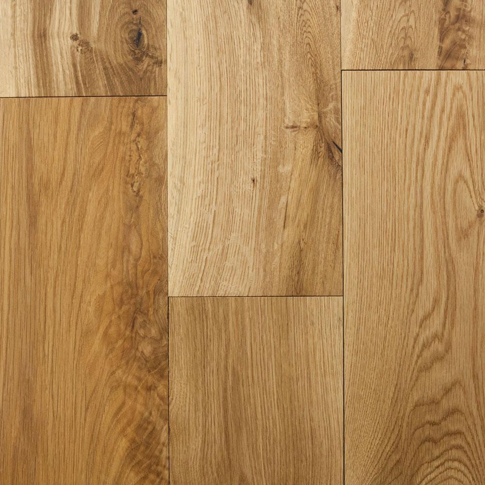 Blue Ridge Hardwood Flooring Take Home Sample - Castlebury Natural European Sawn White Oak Click Engineered Flooring - 5 in. x 7 in.