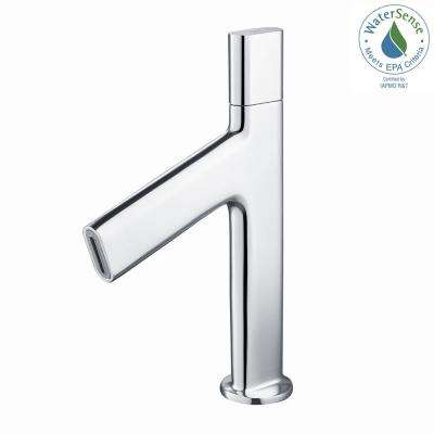 Ino Single Hole Single-Handle Low-Arc Bathroom Faucet in Chrome