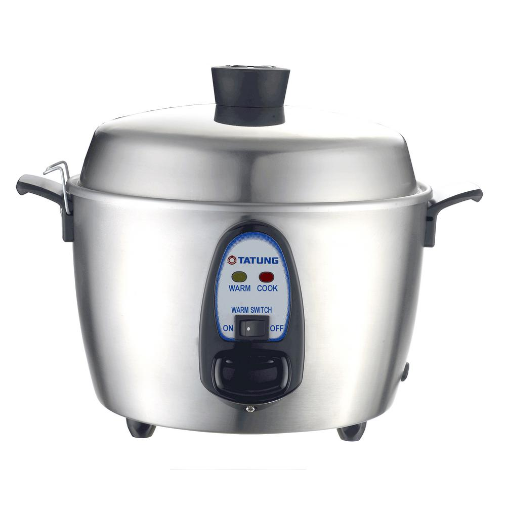 Tatung 6-Cup Stainless Steel (Silver) Multi-Cooker