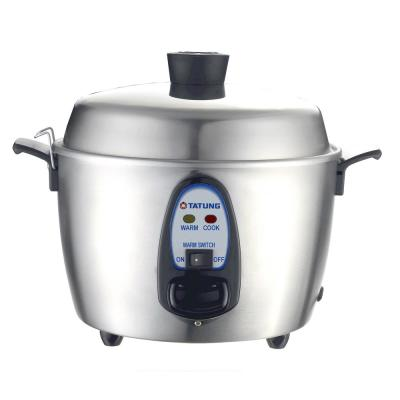 1.14 Qt. Stainless Steel Electric Multi-Cooker with Stainless Steel Pot