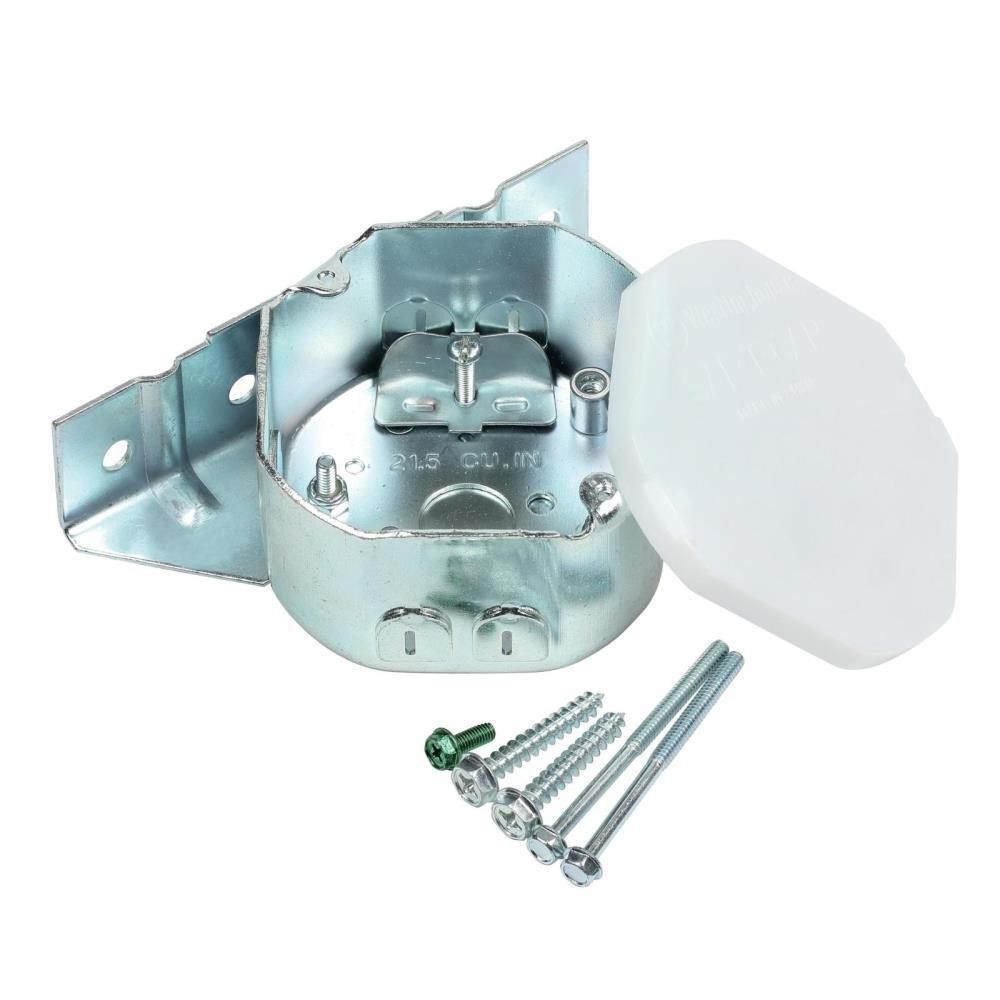 Westinghouse 21.5 cu. in. Remodel Ceiling Fan Sidemount Plus Fan Box ...