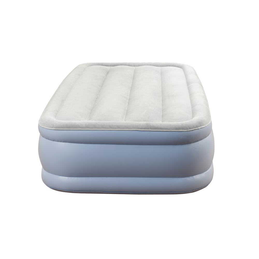 beautyrest air mattress twin Beautyrest Twin Elevated Adjustable Air Bed Mattress HDMM02217TW  beautyrest air mattress twin