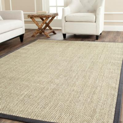 Natural Fiber Marble/Gray 10 ft. x 14 ft. Indoor Area Rug