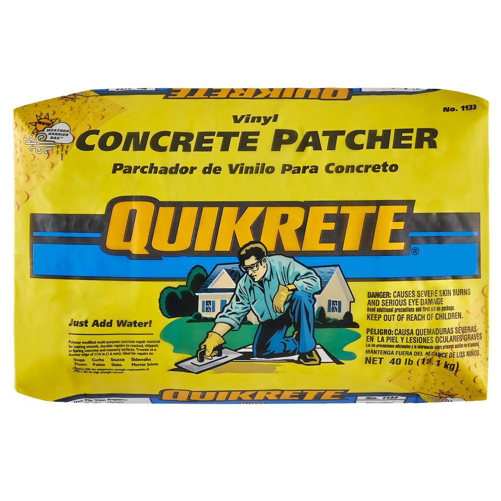 40 lb. Vinyl Concrete Patch Repair