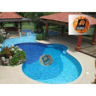 NBA Phoenix Suns 29 in. x 29 in. Small Pool Graphic Mat