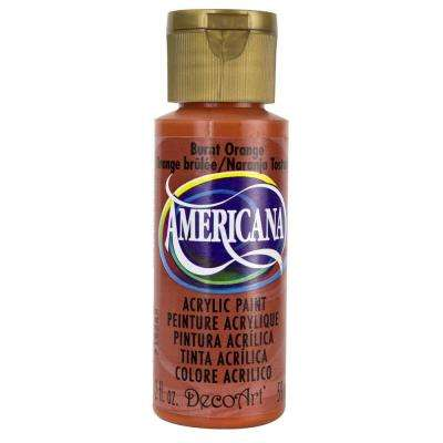 Americana 2 oz. Burnt Orange Acrylic Paint